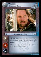 Aragorn, Defender of Rohan