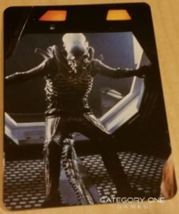 Alien Tips Card