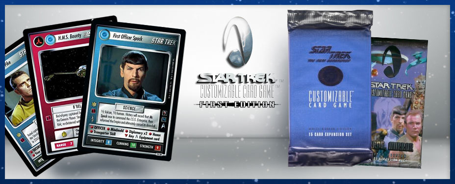 Star Trek Second Edition Cards