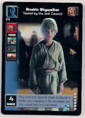 Anakin Skywalker, Tested by the Jedi Council [Foil]