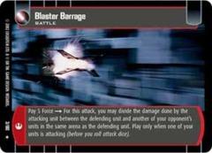 Blaster Barrage
