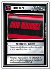 Auto-Destruct Sequence [White Border Alpha]