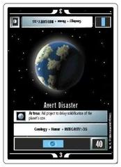 Avert Disaster [White Border Alpha]