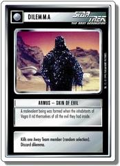 Armus-Skin Of Evil [White Border Beta]