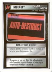 Auto-Destruct Sequence [White Border Beta]