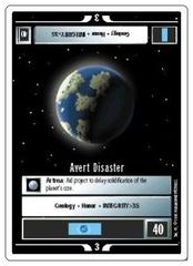 Avert Disaster [White Border Beta]