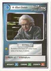 Albert Einstein [White Border Beta]