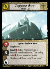 Alphonse Elric, Indelible Seal