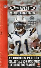 2007 Topps Total NFL Football Box