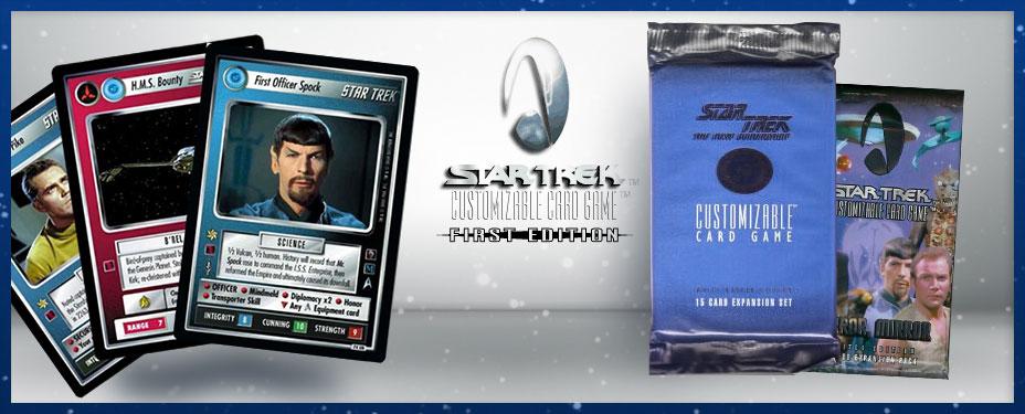 Star Trek First Edition Cards
