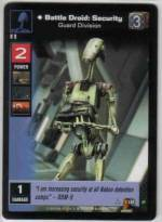 Battle Droid: Security, Guard Division