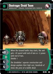 Destroyer Droid Team