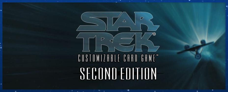 Star Trek Second Edition Cards