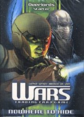 Wars TCG Nowhere To Hide Overlords Starter Deck