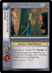 Anduril, Sword That Was Broken (F)