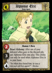 Alphonse Elric, Home Again