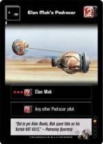 Elan Mak's Podracer