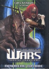 Wars TCG Nowhere To Hide Cats & Claws Starter Deck