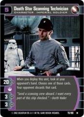 Death Star Scanning Technician