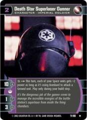 Death Star Superlaser Gunner