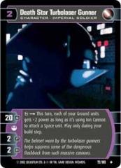 Death Star Turbolaser Gunner