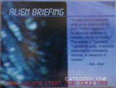Alien Briefing