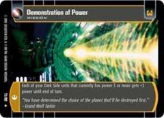 Demonstration of Power