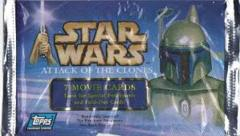 Star Wars Attack of the Clones Movie Cards