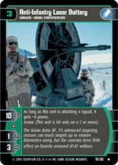 Anti-Infantry Laser Battery