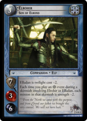 Elrohir, Son of Elrond