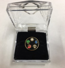 Magic the Gathering Vintage Lapel Pin - Mana Symbols