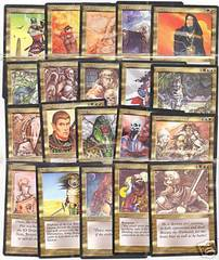 Legends Gold Uncommon Set (20 Cards)