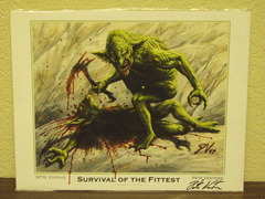 Survival of the Fittest - Signed & Altered Print