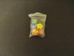 Bagged 6-Die Set - Multi Color