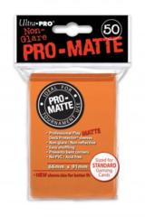 Ultra Pro Deck Protector - Pro-Matte Orange (50 ct)
