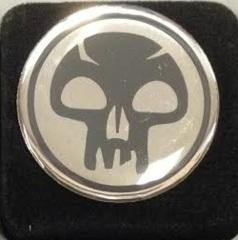 Magic the Gathering Mana Symbol Pin - Black