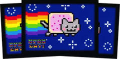 Ultra Pro Sleeves - Nyan Cat (50 ct)