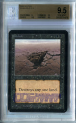 Sinkhole (Alpha) - Beckett Gem Mint 9.5