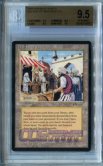 Bazaar of Baghdad #a (Arabian Nights) - Beckett Gem Mint 9.5