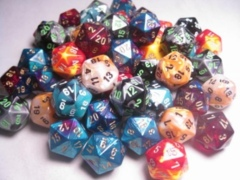 20 Sided Dice (D-20) (Signature Series)