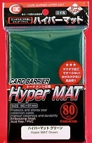 KMC Hyper MAT Green Sleeves (80 ct)