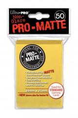 Ultra Pro Deck Protector - Pro-Matte Yellow (50 ct)