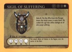 Golem Arcana: Sigil of Suffering (GenCon Promo)