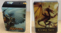 9th Edition Card Box - Serra Angel w/ life counter