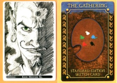 The Gathering: Erhnam Djinn - 20th Anniv. Promo Sketch Card