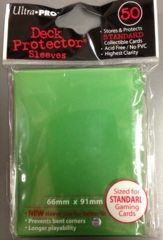 Ultra Pro Deck Protector - Green (50 ct)