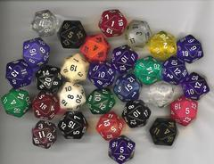 20 Sided Dice (D-20)