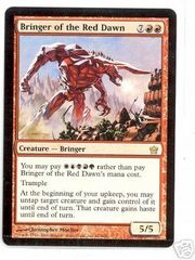 Bringer of the Red Dawn - Crimped