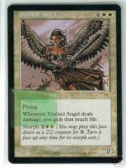 Exalted Angel - Text Printed On Sticker
