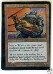 Beast of Burden - FOIL Miscut No Set Symbol
